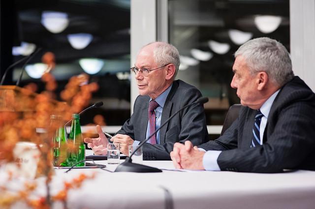 High-level seminar with President Herman VAN ROMPUY at Natolin.24 November 2016
