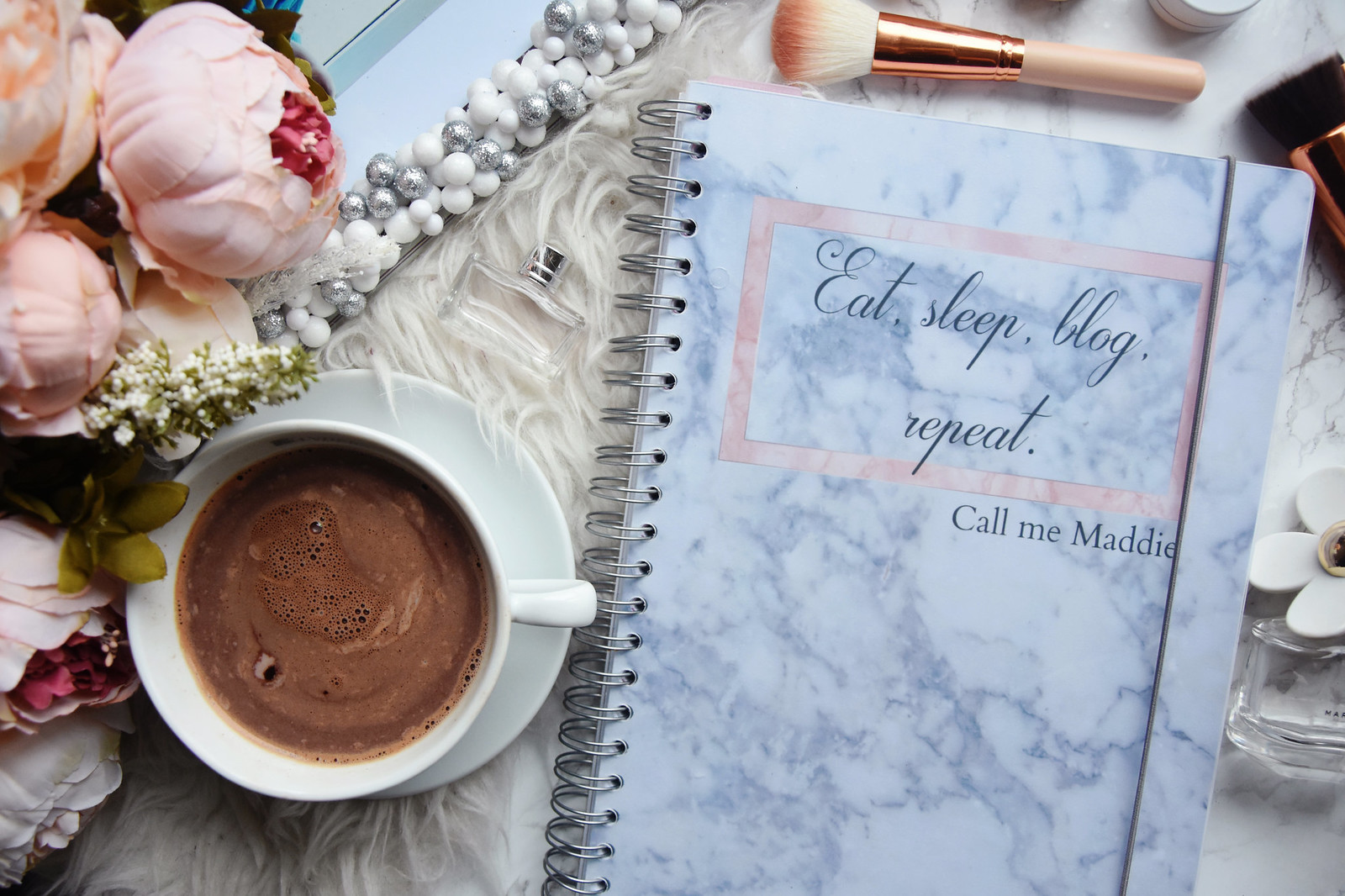 Personal planner for bloggers