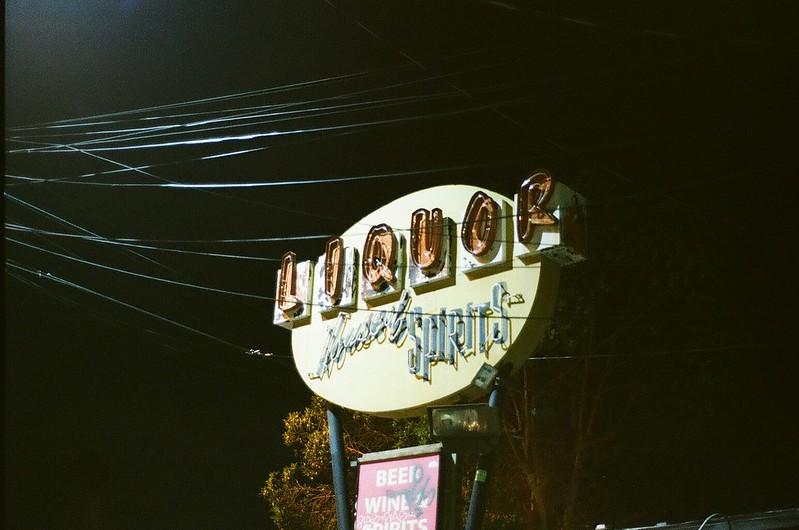 L.A at night