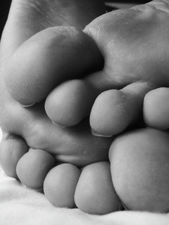 Feet - Black and White | by KatieHarker