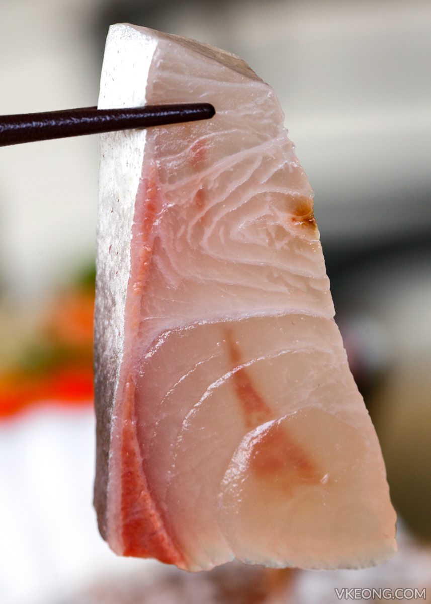 The Fat Fish Kanpachi Sashimi