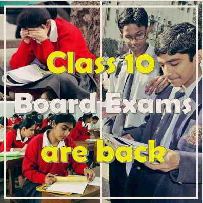 CBSE Class 10 Board Exams are back