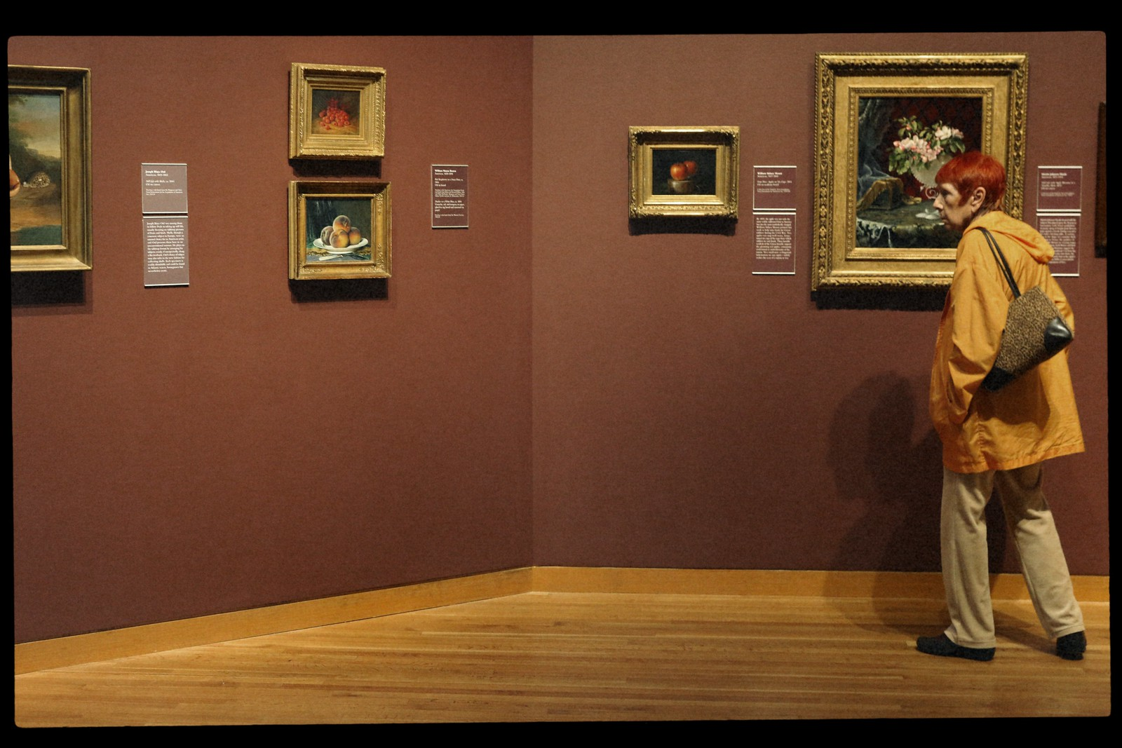Woman With Still Lifes, High Museum of Art, October 2015