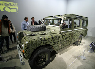 Keith Haring - Land Rover (7878)