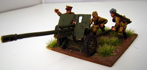 Bolt Action - Russian ZIS3, Japanese Tankette & M5 Stuart