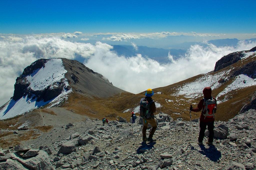 Jade Dragon Snow Mountain trekking