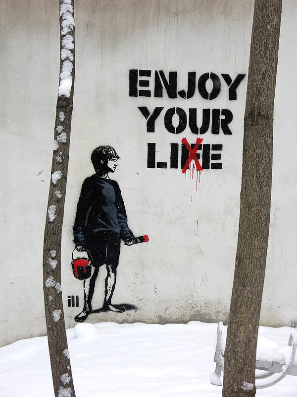 enjoy your lie- 1.25.2014- photo by joubin mireskandari- mahale ejra fereshte