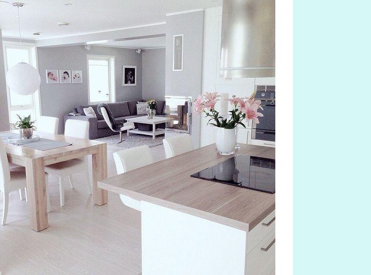 cocina-abierta-al-salon-bonita