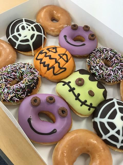 Halloween 2015 KKD doughnut