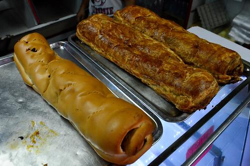 recorrido por panaderias viendo los diferentes precios en el pan de j