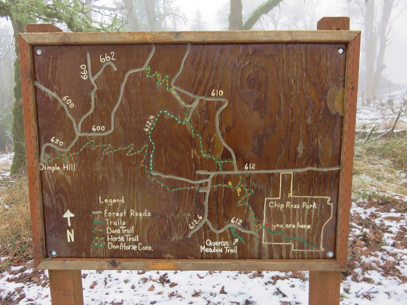 McDonald-Dunn Research Forest Trail Map