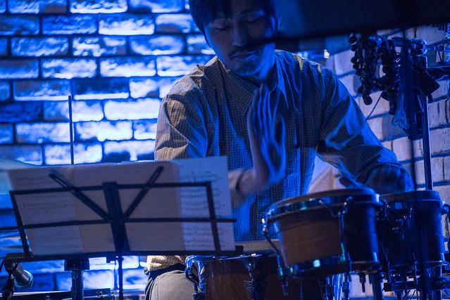 Satoko Fujii Quartet live at Cortez, Mito (Japan), 22 Dec 2016 -00022