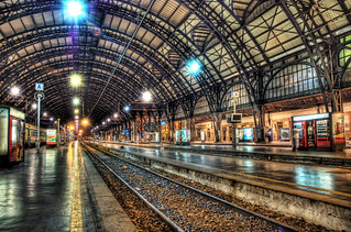 Milan Train Station at Midnight | by Stuck in Customs