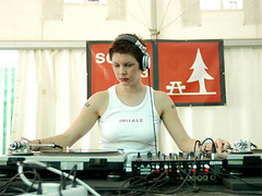 DJ MIss Kittin spinning the electro-clash | by DJ MsDD