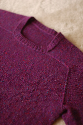 Seamless Hybrid Raglan Saddle (Front) | by brooklyntweed