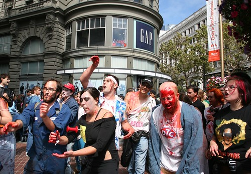 Zombies Invade San Francisco! | by Scott Beale