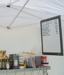 BBQ Schedule in the Prep Tent | by nepolon