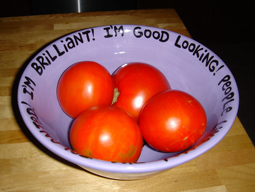 Big Bowl of Self-Esteem.  And 'maters... | by kelly-bell