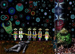 LARRY CARLSON, Deep Slumbers, digital chromogenic print, 26x22in., 2007. | by LARRY  CARLSON