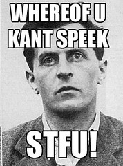Wittgenstein_stfu | by blue sometimes