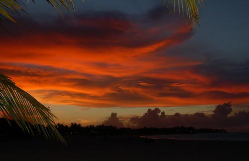 fiery glow burning sunset - photo #13