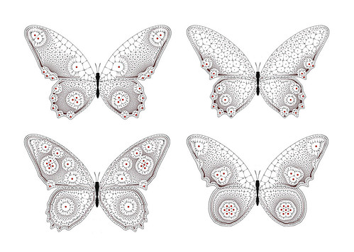 Generative Butterflies | by flight404