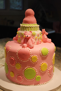 Baby Shower Cake 002 | by Ally Cake Designs