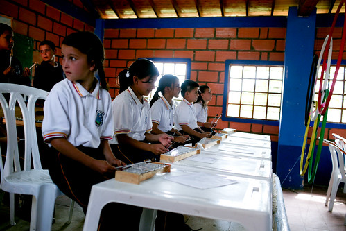 Students in a music class | by World Bank Photo Collection