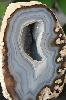 Blue Lace Agate Geode From Rio Grande, Brazil | by schwigorphotos