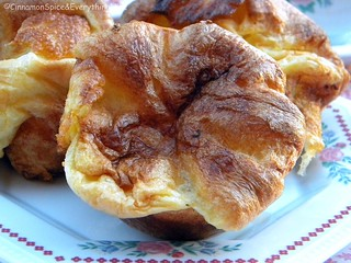 Popovers (Yorkshire Puddings) with Strawberry Butter | by CinnamonKitchn