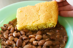 porch beans cornbread 112 | by Ree Drummond / The Pioneer Woman