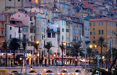 Rita Crane Photography:  Twilight in Old Town Menton, French Riviera | by Rita Crane Photography