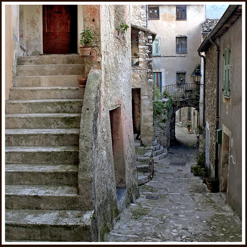 Rita Crane Photography: France / Provence / village / stone / medieval village  / walls / Village of Gorbio, Maritime Alps, Provence | by Rita Crane Photography