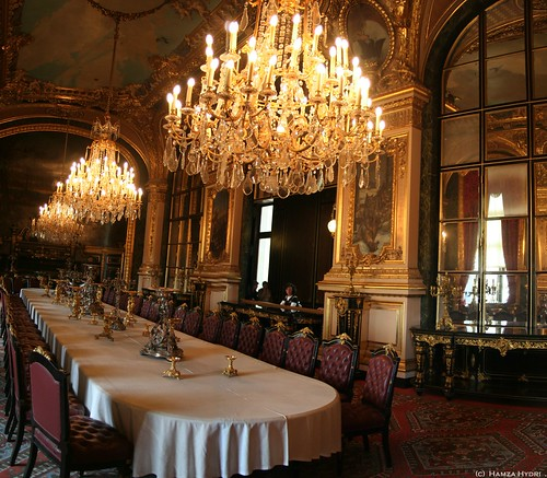 The royal dining room napoleans rooms louvre paris flickr for Best dining rooms paris