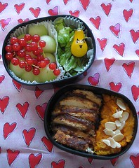 happy tomato bento | by Sakurako Kitsa