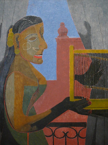 Woman With A Bird Cage Tamayo Rufino Tamayo Mexican