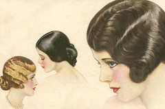 1927 hairstlyes | by in pastel