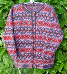 Rambling Rose Cardigan | by Red Grouse