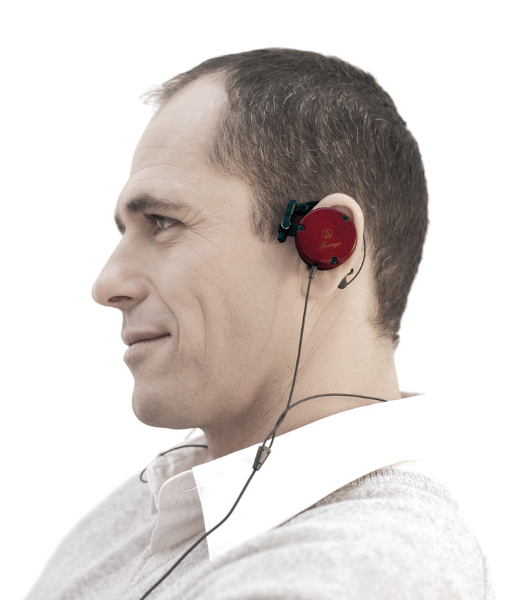 on-ear headphone