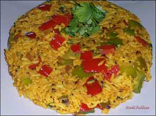 Capscium Rice | by .redchillies