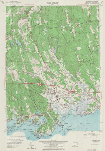 Guilford Quadrangle 1954 - USGS Topographic 1:24,000 | by uconnlibrariesmagic