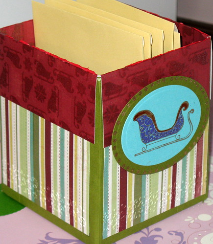Altered kleenex box now card holder | by Tysgma