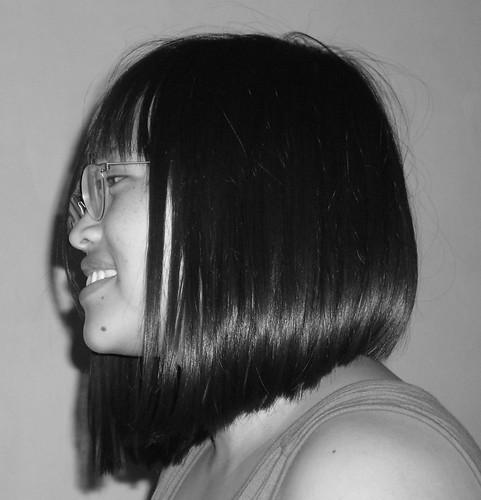 a reverse graduated bob | I was a hair model at HOB Salon ...