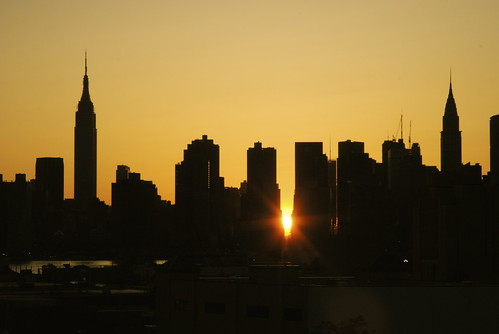 Manhattanhenge 5.30.07 | by zonalpony