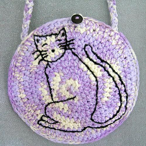 Cat In Purse Toy