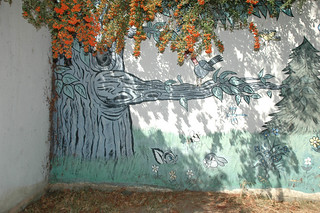 Mural in Courtyard of Science and  Treatment Building | by California State University Channel Islands