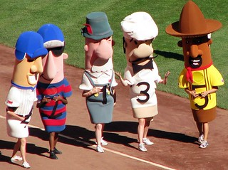 Miller Park Sausage Race | by relux.