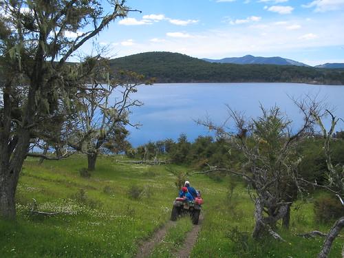 Otra vista del lago Yakush (foto mateopopovich en flickr)