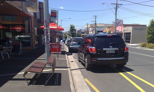 My car is as big as a bus, so I guess I can park in a bus stop | by Daniel Bowen