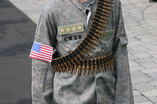 U.S. army costume | by Rosie O'Donnell